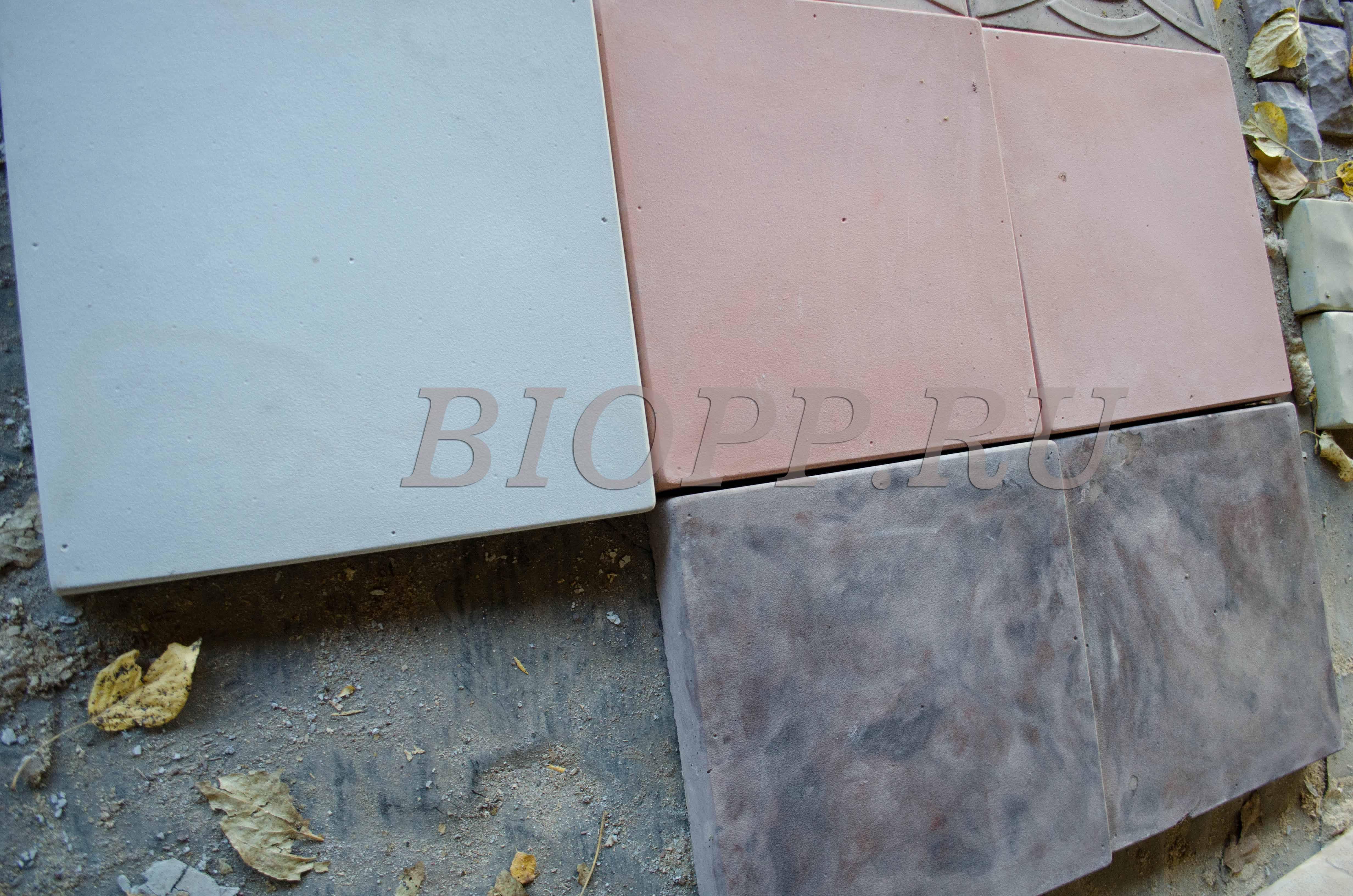 Смазка форм тротуарной плитки своими руками 275