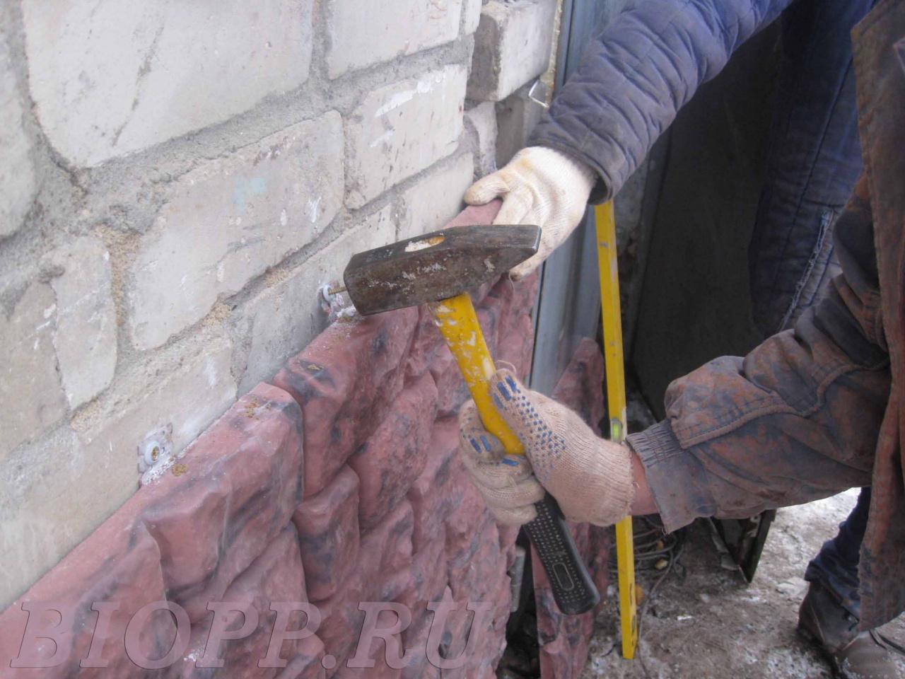 Монтаж искусственного камня своими руками - наглядные инструкции 85