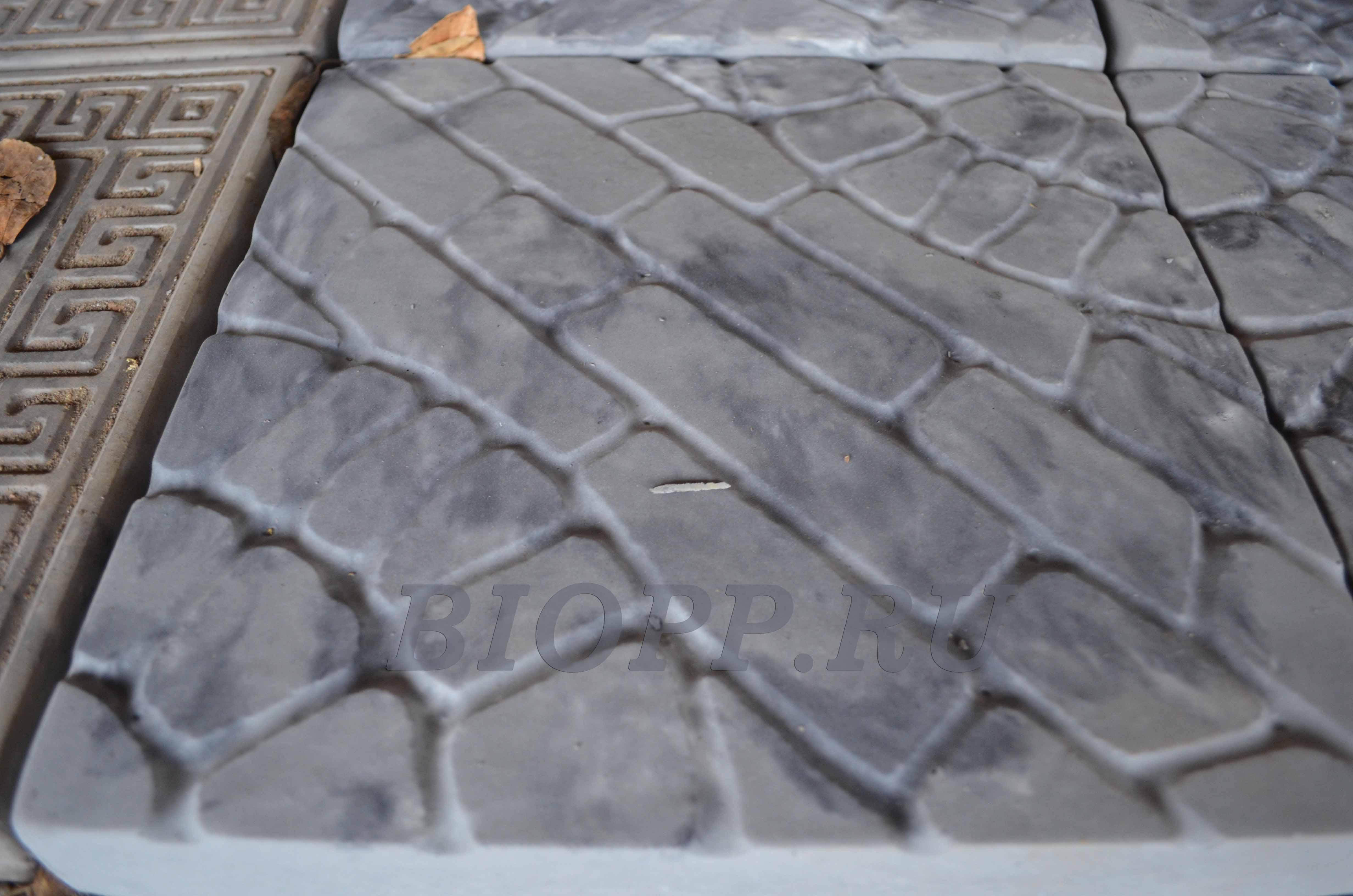 Смазка форм тротуарной плитки своими руками 409